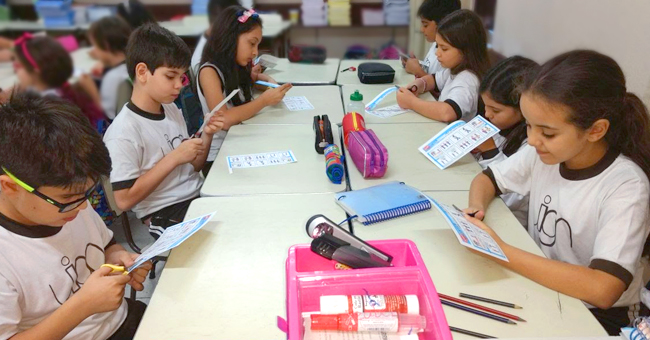 Ações no Garriga visam conscientizar alunos sobre os perigos e as consequências do bullying na escola.